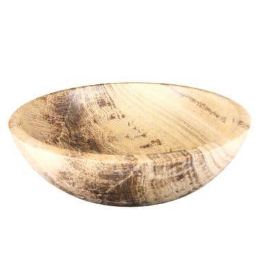 Tondo Polished Sunset Marble Round  Sink 45 cm x 15 cm