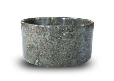 Ulysse Grey Natural Stone  Marble wash basin 30cm