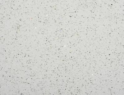 White Quartz / Starlight Tiles 600 mm x 600 mm x 12 mm
