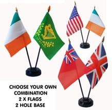 ✪ CHOOSE YOUR OWN TABLE FLAG SET ✪