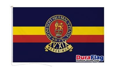 15TH-19TH KINGS ROYAL HUSSARS DURAFLAG WITH CLIPS 150cm x 90cm
