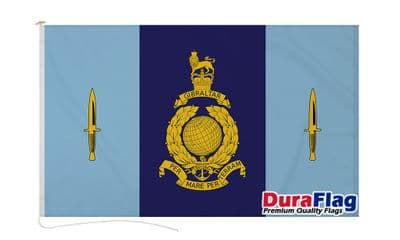 40 COMMANDO ROYAL MARINES DURAFLAG WITH CLIPS 150cm x 90cm