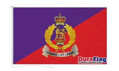 ADJUTANT GENERAL CORPS DURAFLAG WITH CLIPS 150cm x 90cm