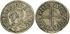 AETHELRED II PENNY (REPLICA) COIN