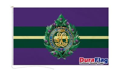 ARGYLL AND SUTHERLAND HIGHLAND  DURAFLAG WITH CLIPS  150cm x 90cm