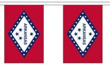 ARKANSAS U.S. STATE BUNTING - 9 METRES 30 FLAGS