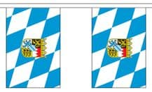 BAVARIA WITH CREST BUNTING - 9 METRES 30 FLAGS