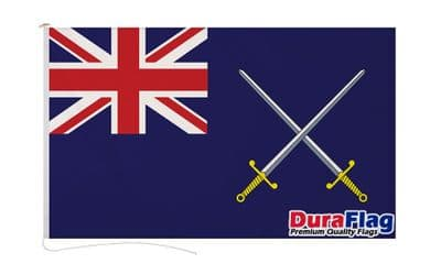 BRITISH ARMY ENSIGN  DURAFLAG WITH CLIPS  150cm x 90cm