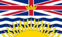 BRITISH COLOMBIA - 5 X 3 FLAG