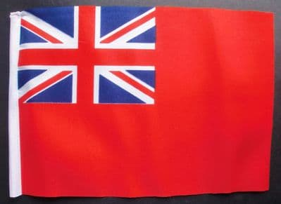BRITISH RED ENSIGN - SMALL BUDGET FLAG 9