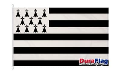BRITTANY  DURAFLAG WITH CLIPS  150cm x 90cm