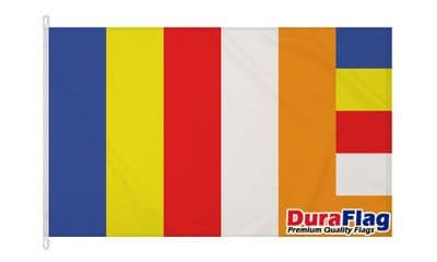 BUDHISM  DURAFLAG WITH CLIPS  150cm x 90cm