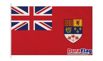 CANADIAN RED ENSIGN 1957-1965 DURAFLAG WITH CLIPS  150cm x 90cm