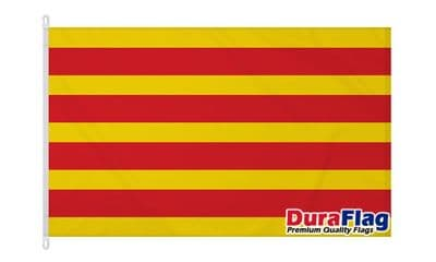 CATALONIA  DURAFLAG WITH CLIPS  150cm x 90cm