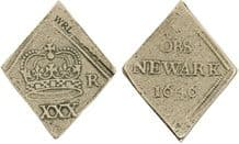 CHARLES I HALF CROWN (REPLICA) COIN