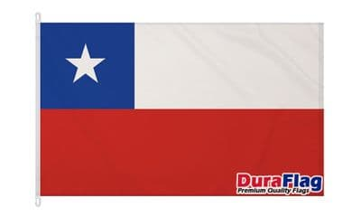 CHILE  DURAFLAG WITH CLIPS 150cm x 90cm