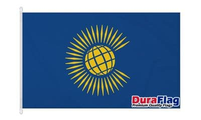 COMMONWEALTH NEW  DURAFLAG WITH CLIPS  150cm x 90cm