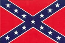 CONFEDERATE SOUTHERN CROSS - 8 X 5 FLAG