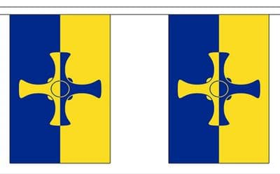 COUNTY DURHAM BUNTING - 3 METRES 10 FLAGS