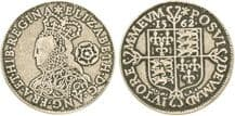 ELIZABETH 1ST SIXPENCE REPLICA COIN