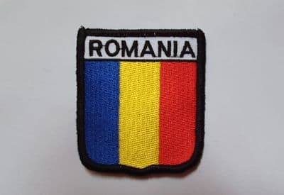 EMBROIDERED PATCH - ROMANIA A274