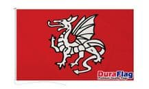 ENGLISH PENDRAGON ANGLO SAXON A FLAG DURAFLAG WITH CLIPS 150cm x 90cm