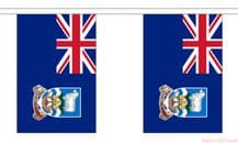 FALKLAND ISLANDS BUNTING - 3 METRES 10 FLAGS