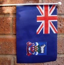 FALKLAND ISLANDS (FALKLANDS)- HAND WAVING FLAG (MEDIUM)