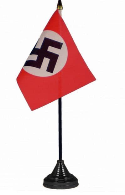 GERMAN (NAZI) WW2 REGULAR - TABLE FLAG