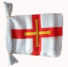 GUERNSEY BUNTING - 3 METRES 10 FLAGS