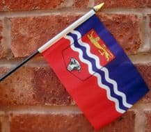 HAND WAVING FLAG (SMALL) - Herefordshire