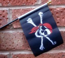 HAND WAVING FLAG (SMALL) - Pirate Bandana