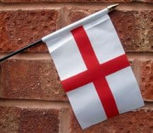 HAND WAVING FLAG (SMALL) - St George (England)