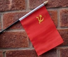 HAND WAVING FLAG (SMALL) - USSR