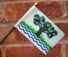 HAND WAVING FLAG (SMALL) - Worcestershire