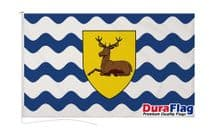 HERTFORDSHIRE FLAG DURAFLAG WITH CLIPS  150cm x 90cm