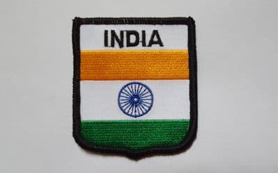 INDIA - EMBROIDERED PATCH A164