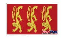 KING RICHARD 1ST FLAG DURAFLAG WITH CLIPS  150cm x 90cm