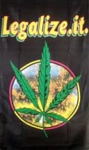 LEGALIZE IT - 5 X 3 FLAG
