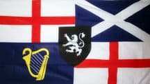 LORD PROTECTOR (OLIVER CROMWELL) - 5 X 3 FLAG