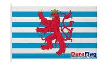 LUXEMBOURG CIVIL ENSIGN  FLAG DURAFLAG WITH CLIPS  150cm x 90cm