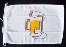 NAUTICAL FLAG : BEER 30cm x 20cm