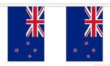 NEW ZEALAND BUNTING - 3 METRES 10 FLAGS