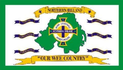 NORTHERN IRELAND OUR WEE COUNTRY - 5 X 3 FLAG