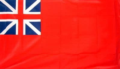RED ENSIGN BRITISH COLONIAL - 5 X 3 FLAG