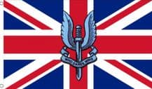 SAS UNION JACK WHO DARES WINS - 5 X 3 FLAG