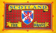 SCOTLAND THE BRAVE - 5 X 3 FLAG