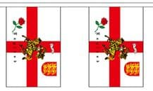 ST GEORGE CHARGER BUNTING - 9 METRES 30 FLAGS