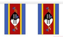 SWAZILAND BUNTING - 3 METRES 10 FLAGS