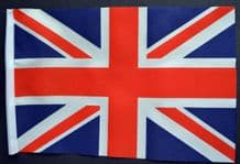 "UNION JACK - SMALL BUDGET FLAG 9"" X 6"""